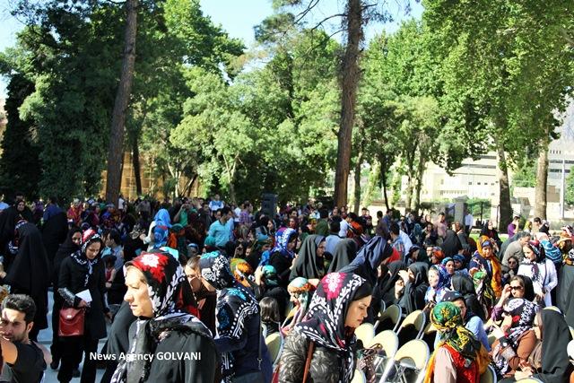 تصاویر اولیه از اجتماع ۳هزارنفری در روز گُلوَنی