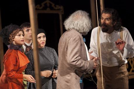 نونهالی: امیدوارم نمایش «تارتوف» یک خاطرهی قابل مراجعه باشد