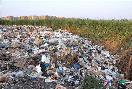زبالههای الشتر در منطقه خرگوشناب جمع میشود