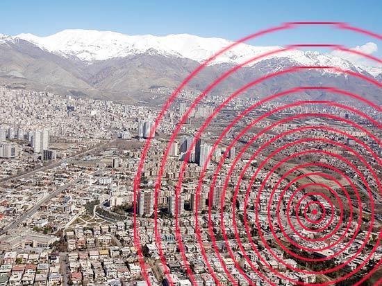 گسل ایوانکی تهران توان لرزهای تا بزرگای ٧.۵ ریشتر را داراست