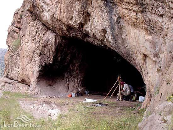 غار یافته بازماندهای از عصر یخبندان