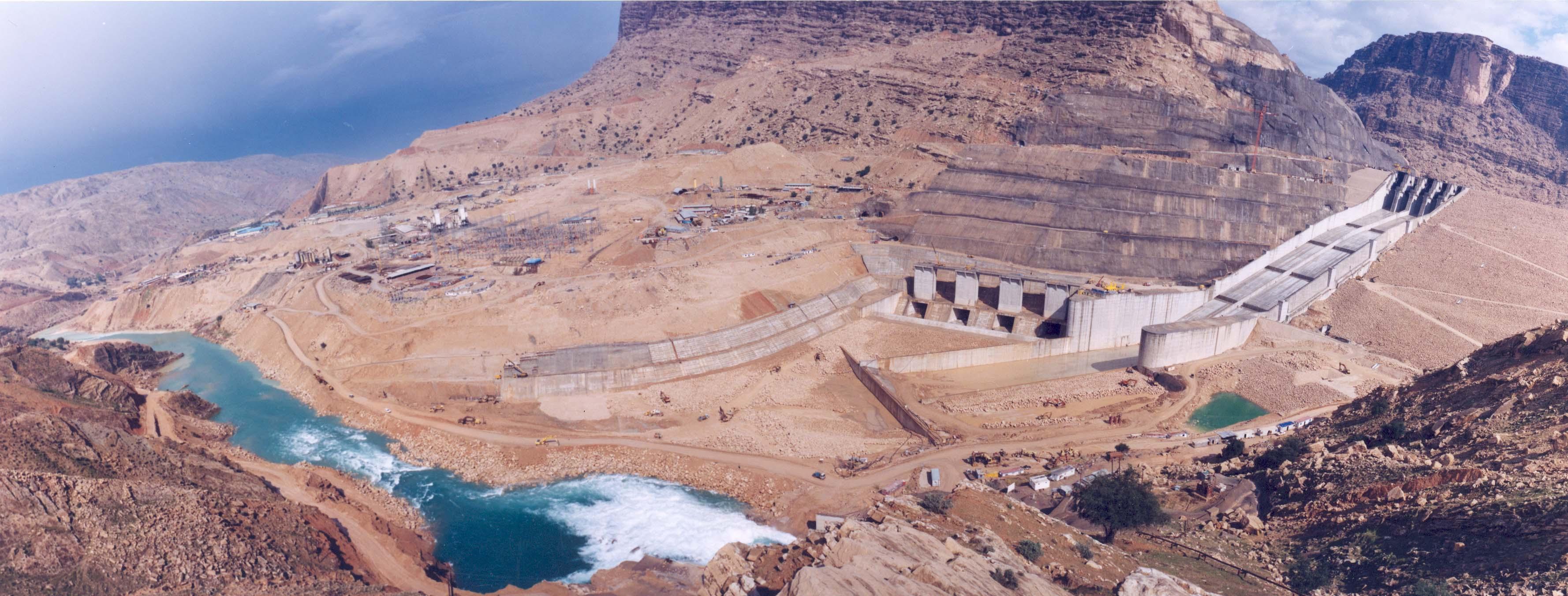 وزارت نیرو: اعمال مدیریت درباره سد گتوند در حال اجراست