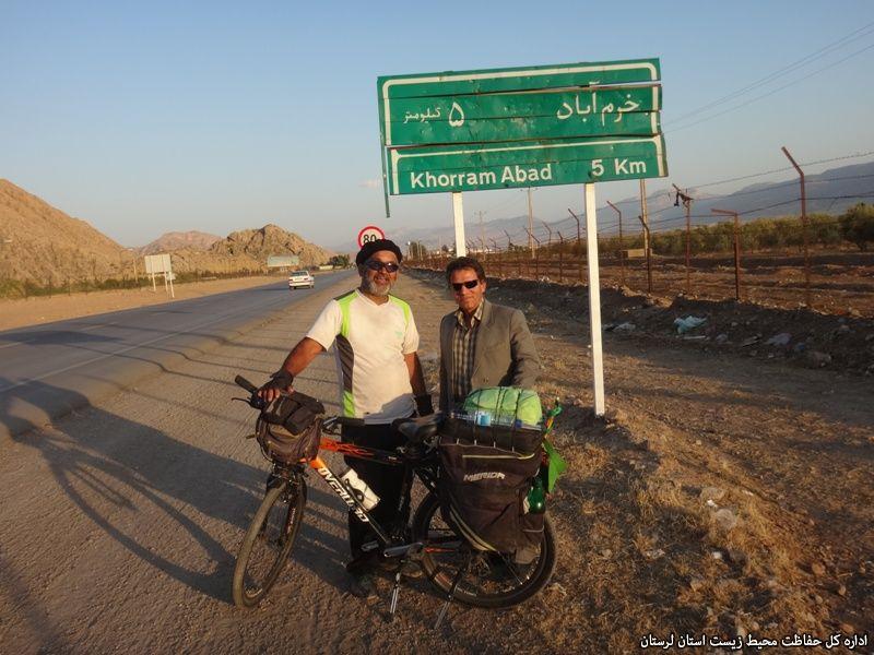 دوچرخهسوار حامی محیط زیست