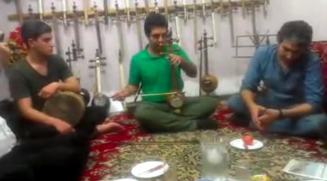 همراهی مسلم علیپور و مهران غضنفری
