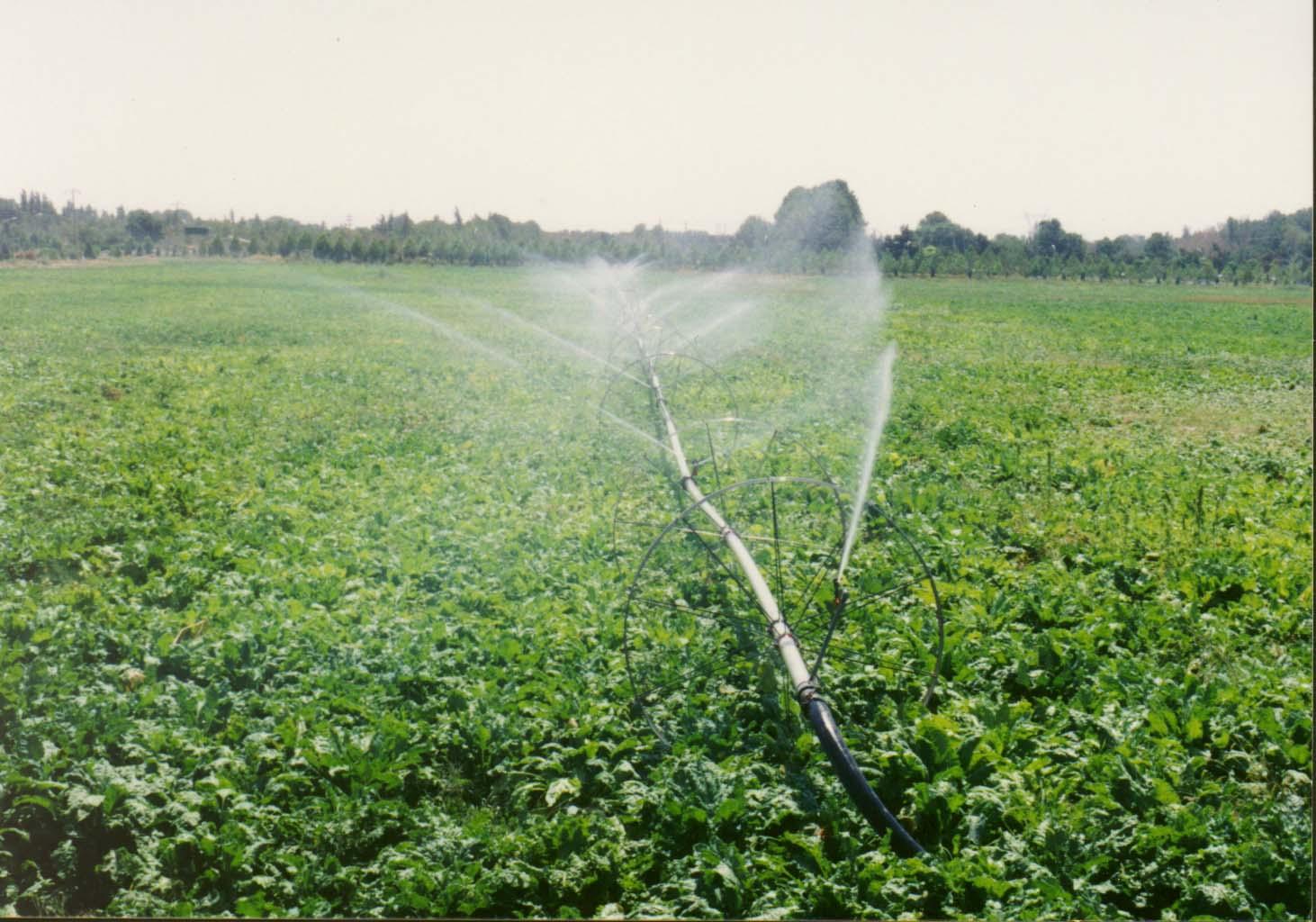 تجهیز اراضی خرمآباد به آبیاری تحت فشار