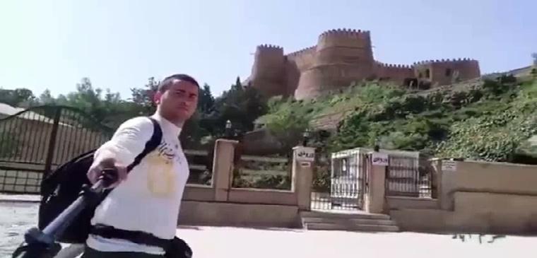 سلفی ۳۱ روزه از ایران