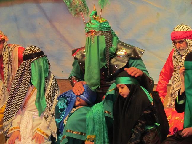 برگزاری رپرتوار خیابانی تئاتر