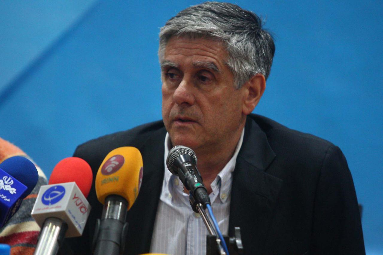لوزانو والیبال ایران را گرفت