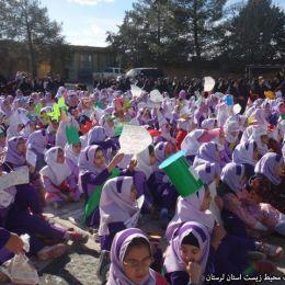 «هر مدرسه یک نهالستان» اجرا شد