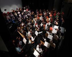 شروع تمرین ارکستر سمفونیک تهران