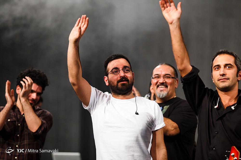 چارتار و شب پرشور جشنواره موسیقی