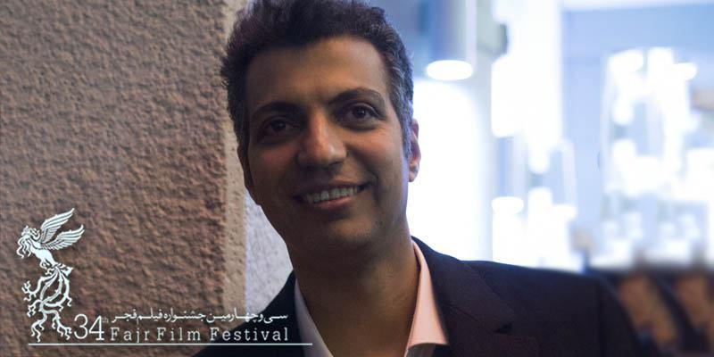 فردوسیپور در کاخ جشنواره فیلم فجر