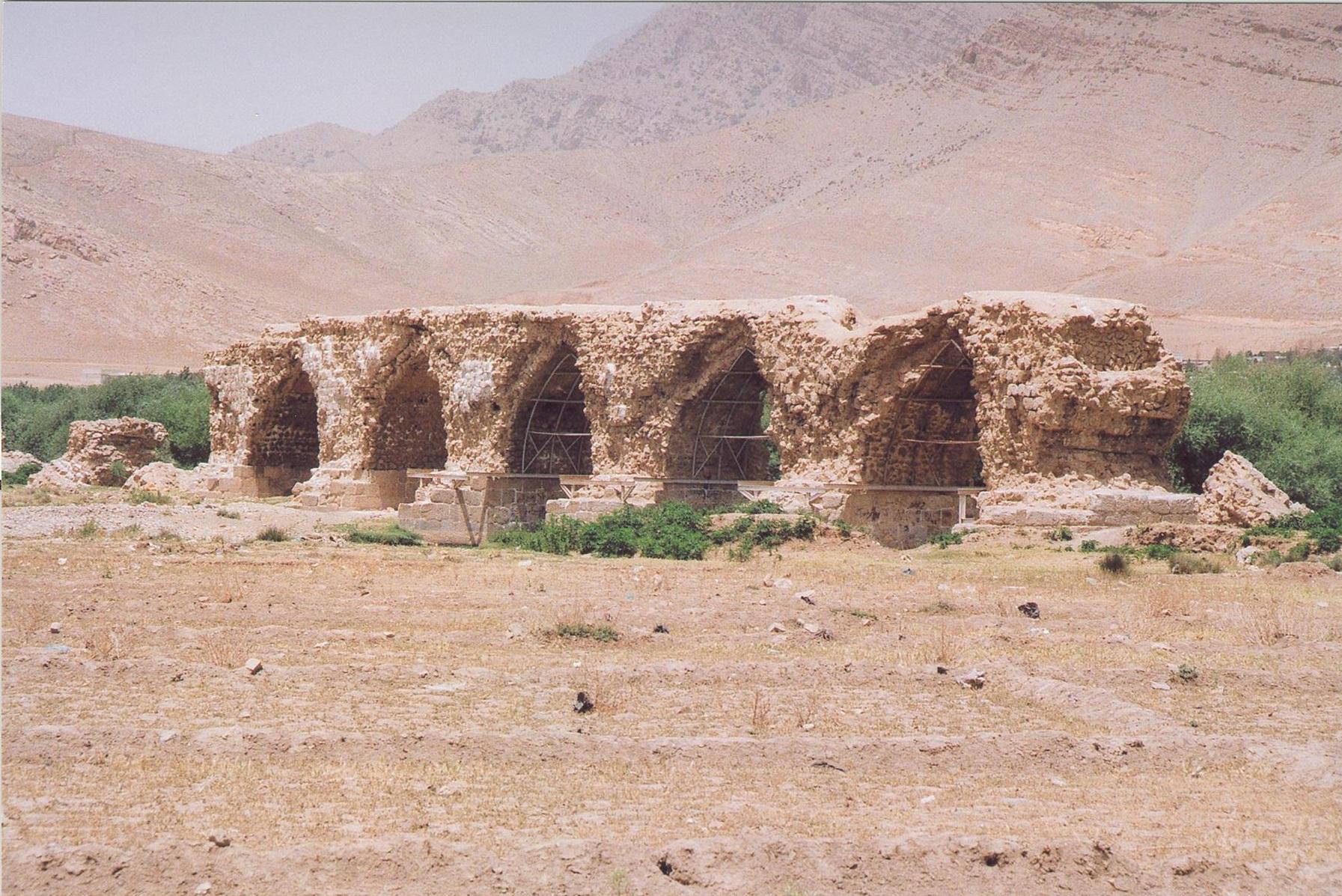 پل شاپوری دوباره مرمت میشود
