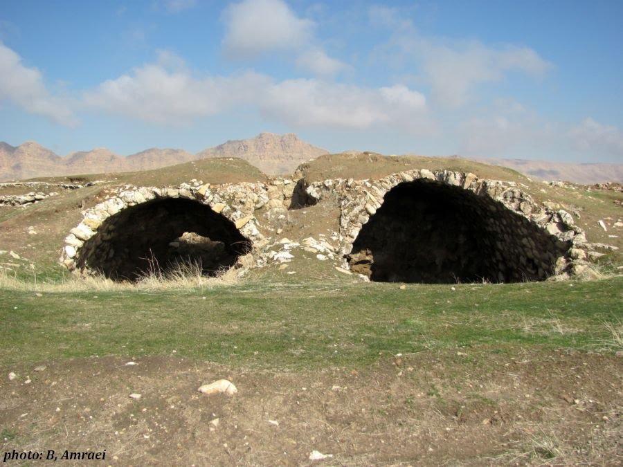 تعیین حریم کاخ ساسانی در رومشکان