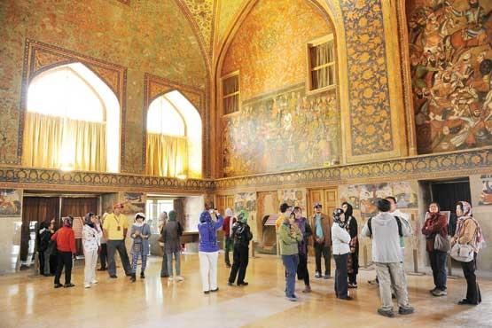 بازدید ۵هزار گردشگر خارجی از اصفهان