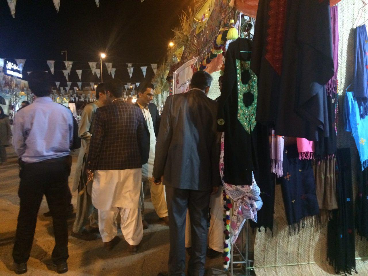 افتتاح نمایشگاه صنایع دستی در چابهار