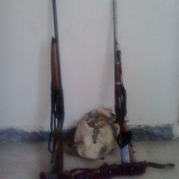 شکارچیان قبل از شکار دستگیر شدند