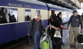 ورود اولین قطار گردشگران خارجی در سال ۹۵