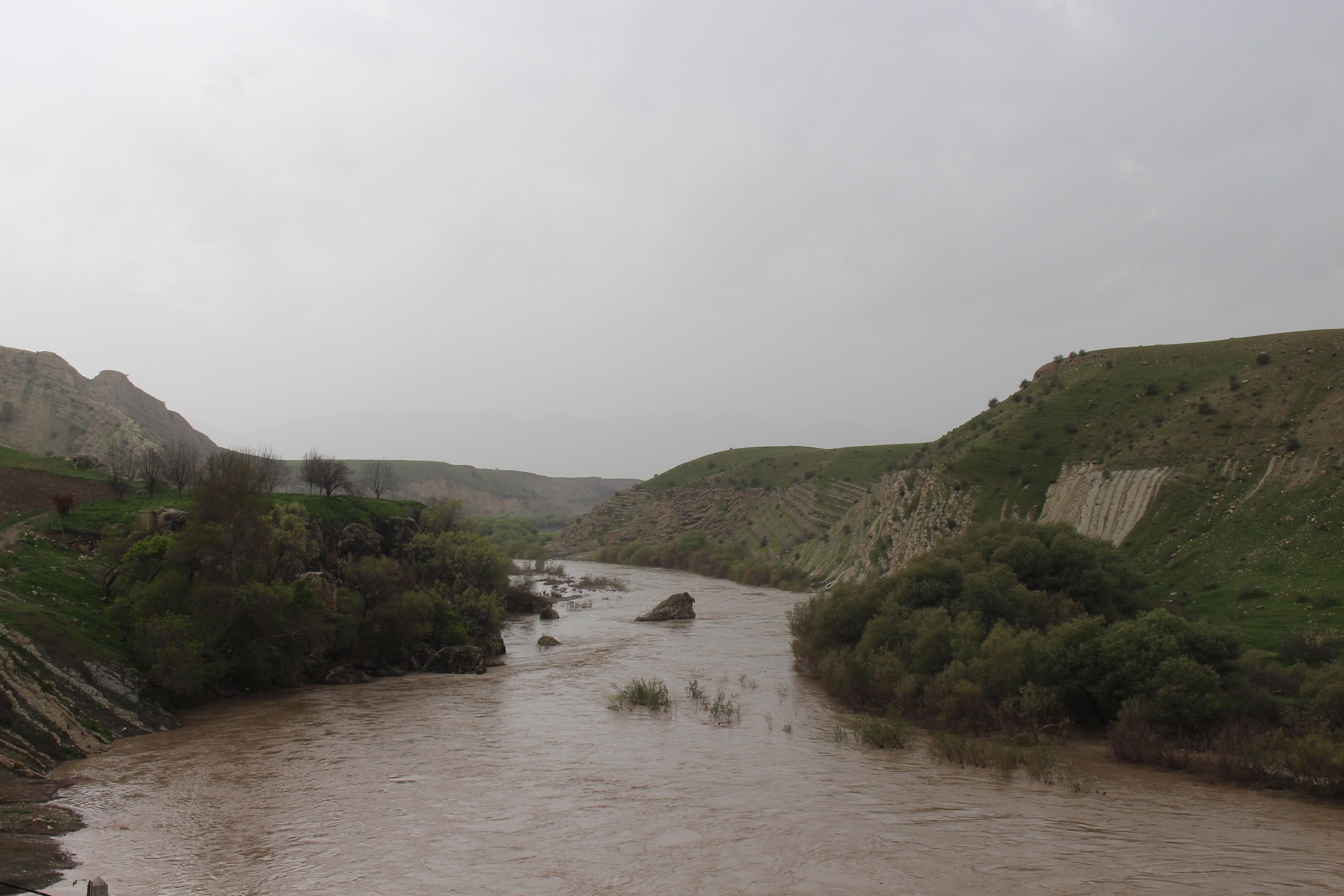 حجم آب سیمره ۴برابر افزایش یافت