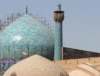 نیمی از گنبد مسجد امام اصفهان مرمت شد