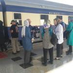 قطار عقاب طلایی به اصفهان رسید
