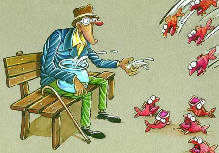 هنر و محیط زیست از دریچه کاریکاتور