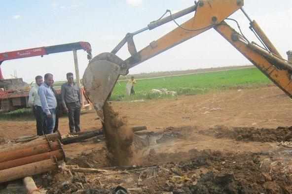 ۱۳۰ حلقه چاه غیرمجاز در همدان مسدود شد