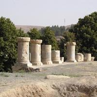 آمادهسازی میدانی معبد آناهیتا