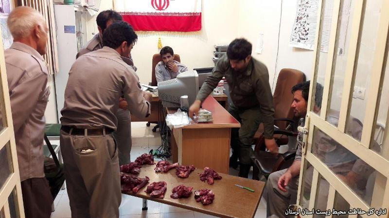 دستگیری شکارچی سابقهدار در اِسپیکو خرمآباد