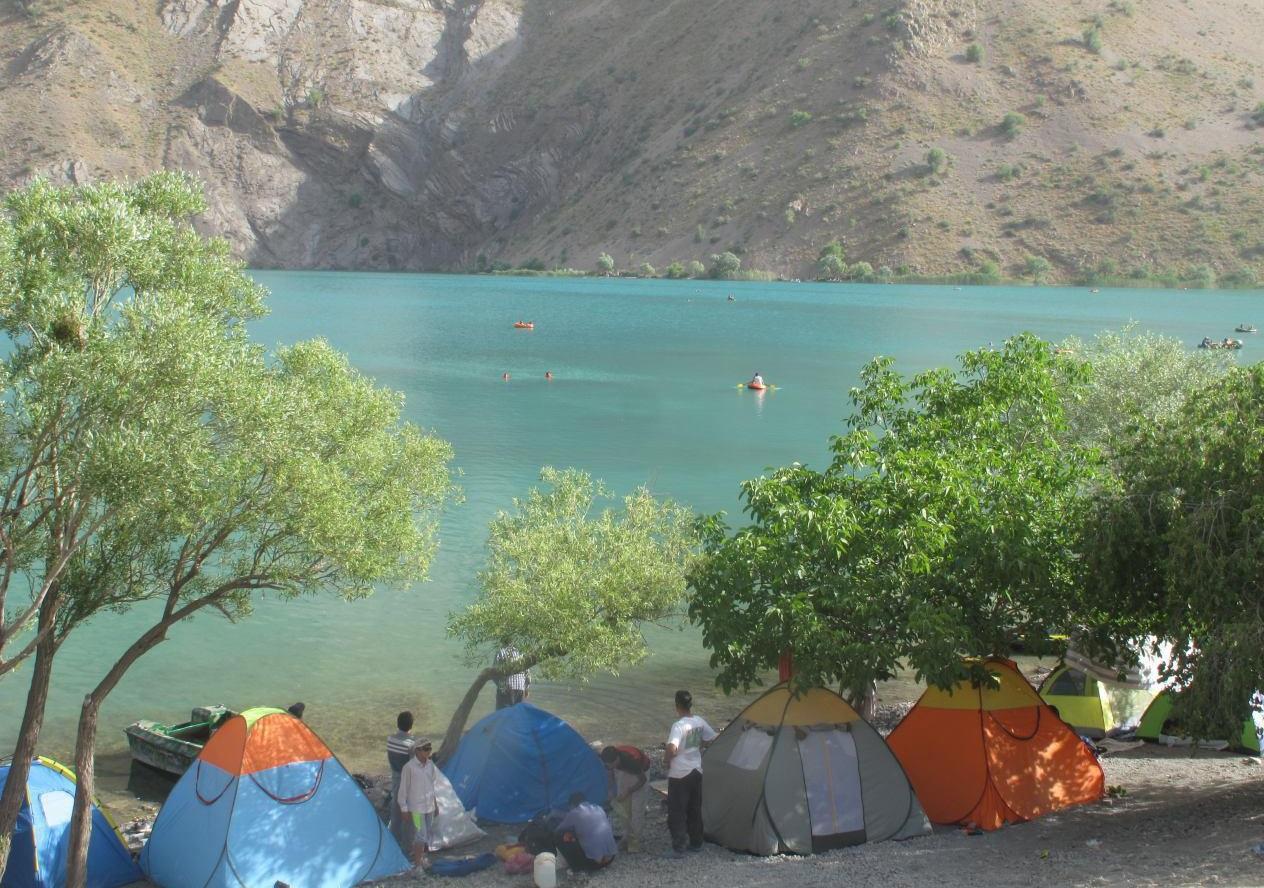رشد ۳۰ درصدی بازدید از دریاچه گهر