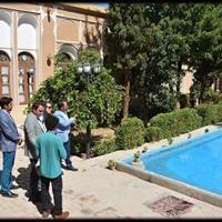 بازدید ارزیاب یونسکو از بافت تاریخی شهر یزد