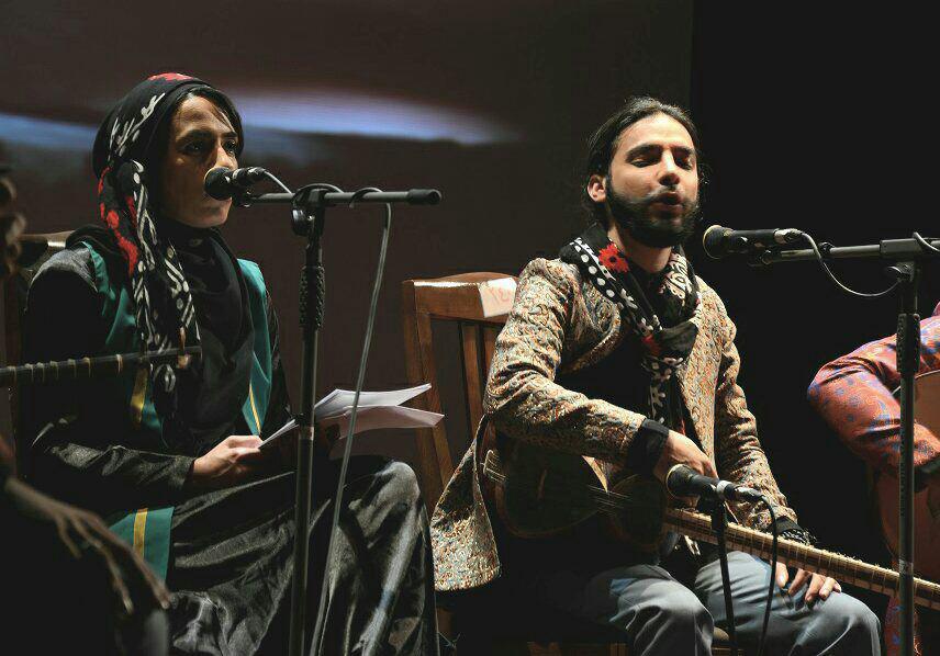 پایکوبی همنوازان آوای پارسیان در تالار رودکی