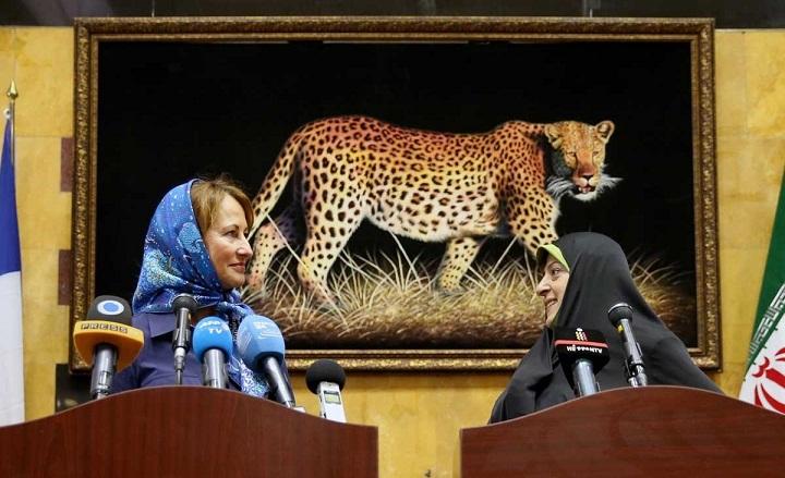 سفر مهم محیط زیستی خانم رویال به ایران