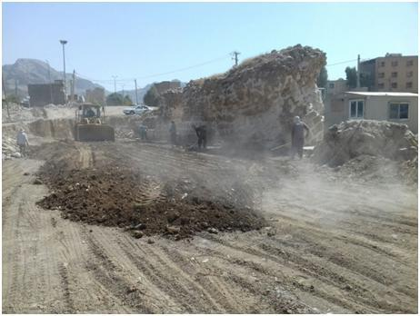 آغاز فاز دوم ساماندهی محوطه پیرامونی پل شاپوری