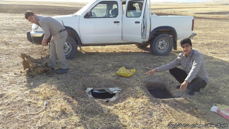 هوسبازی شیوخ عرب با پرندگان شکاری لرستان