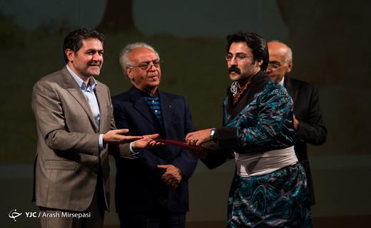تقدیر از احسان عبدیپور در جشن خانه موسیقی