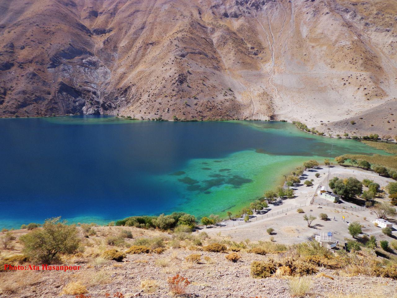 بازدید از تأسیسات گردشگری دریاچه گهر