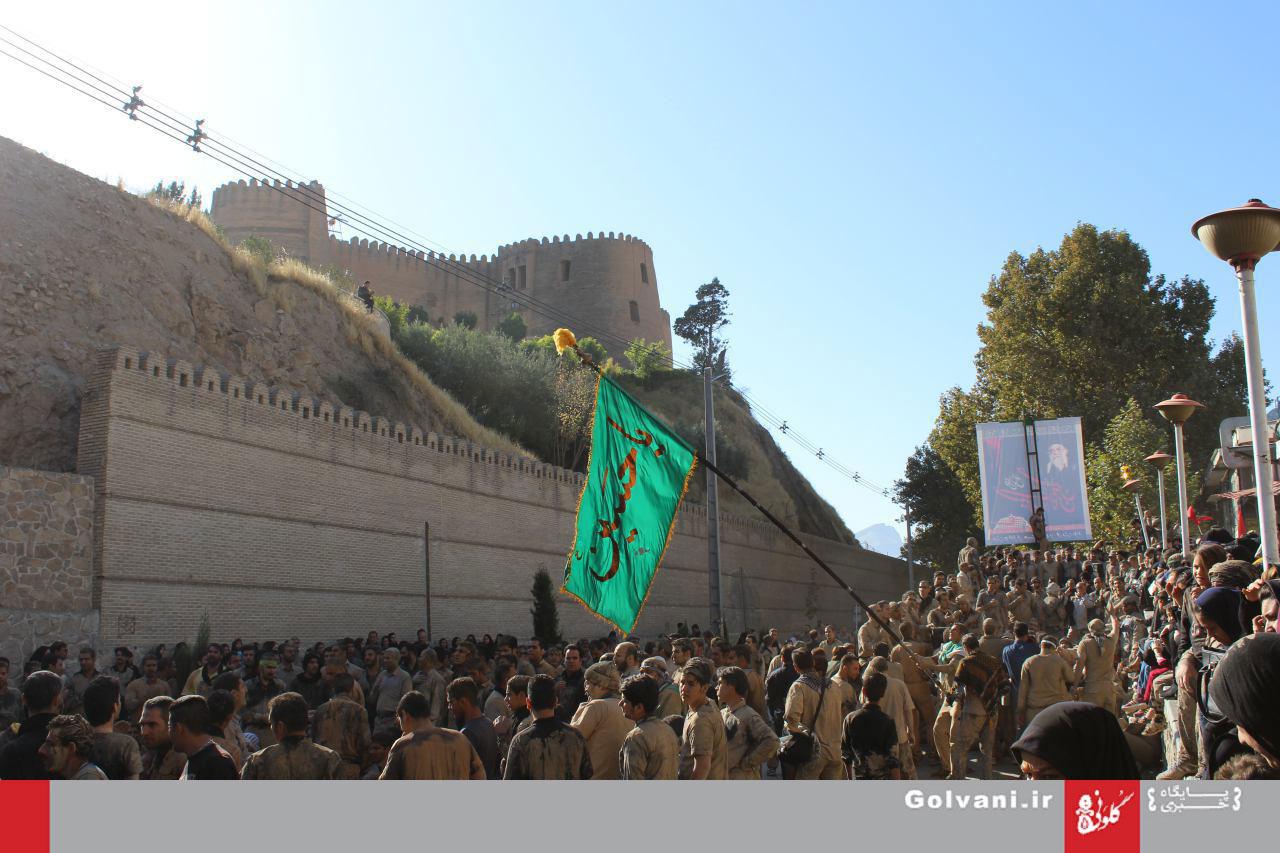 گزارش تصویری از عاشورای حسینی در خرمآباد (۲)