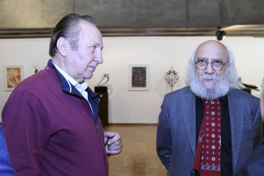 تمدید نمایشگاه نقاشی و مجسمه تاها بهبهانی