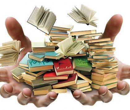 طرحی پاییزه برای کتاب فروختن و کتاب خریدن