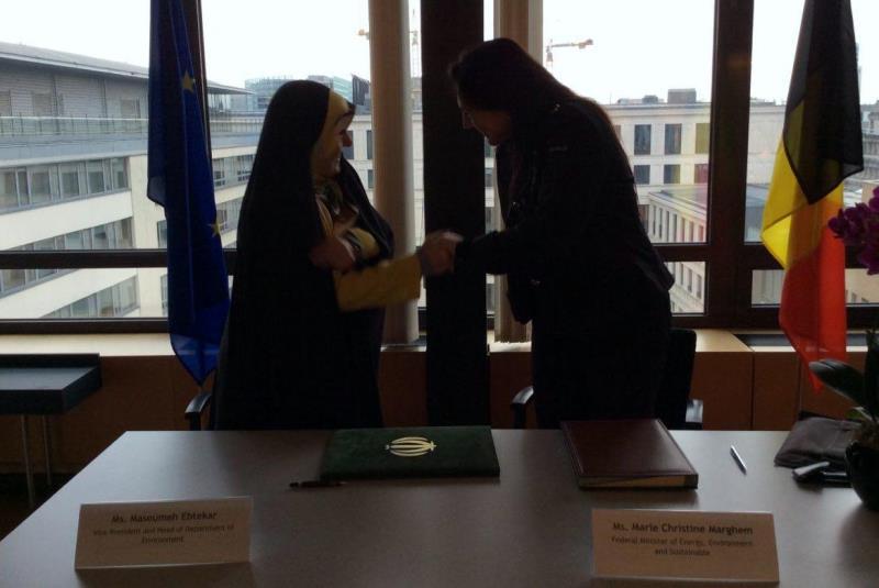 مذاکره ایران و بلژیک برای توسعه همکاریهای محیط زیستی