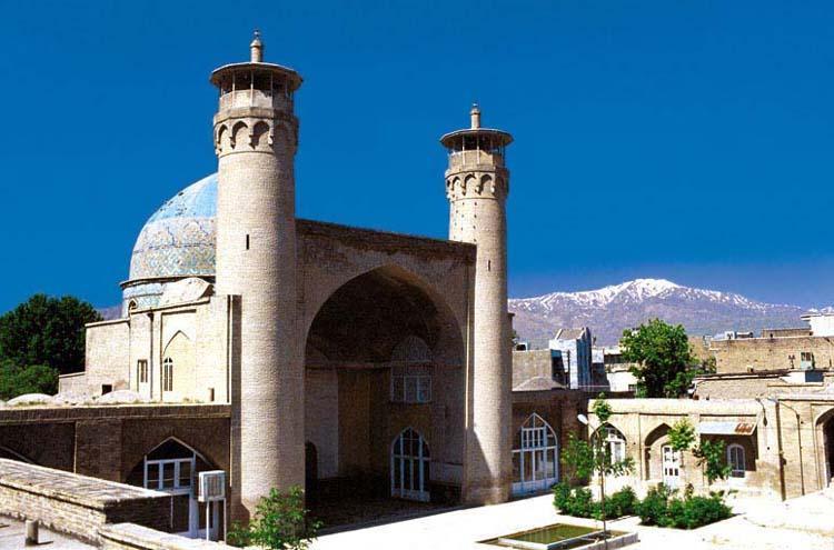 Image result for مسجد جامع بروجرد