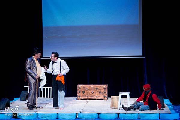 نمایش بر پهنه دریا در ارسباران بهروی صحنه میرود