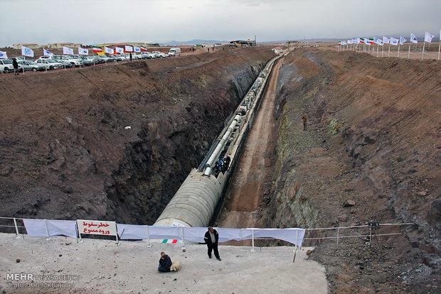 خط انتقال آب کاکارضا به خرمآباد افتتاح شد