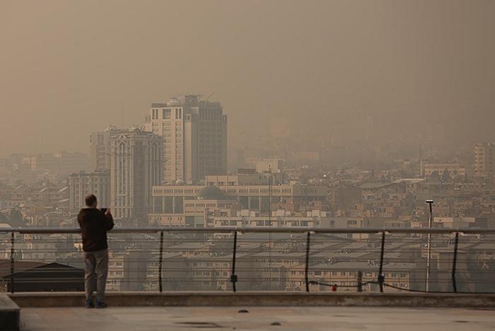 هوای تهران تا پایان هفته آلوده است