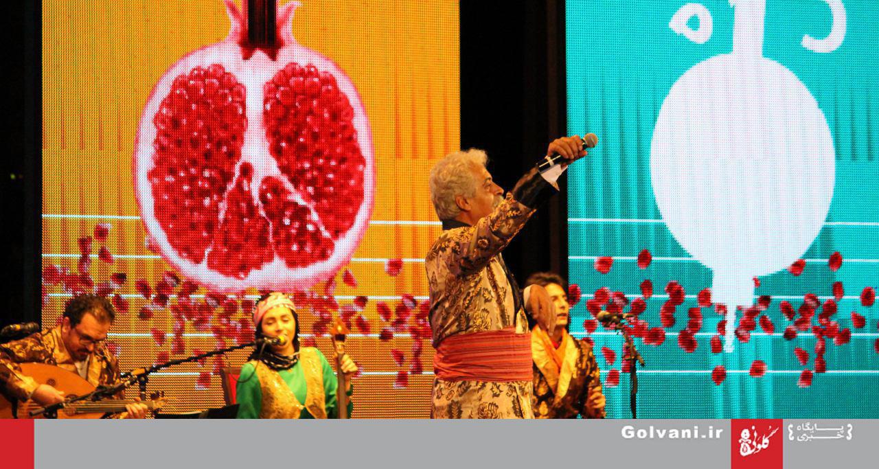 عکسهای انوشه میرمجلسی از کنسرت شب چله لُری