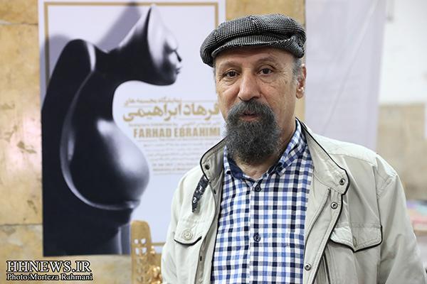 نمایشگاه مجسمه تاثیر تغذیه بر آناتومی افتتاح شد