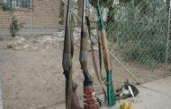 کشف و ضبط سلاح  غیرمجاز در تالاب انزلی