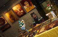 نمایشگاه چهارچوب هنر در برج آزادی