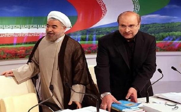 روحانی: آقای قالیباف! اگر من مردانگی نکرده بودم، شما اینجا ننشسته بودی؛ شما کارتان لوله کردن بود